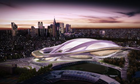 Olympics Front-Runner Tokyo Plans Biggest Project in 42 Years