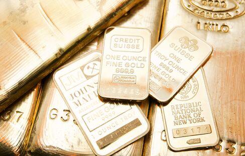 Gold Declines Below $1,600
