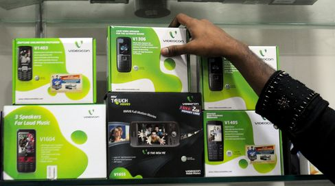 Videocon May Sell Control of Mobile-Phone Unit, Executive