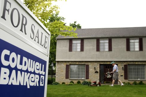 Existing-Home Sales in U.S. Fell in May to Six-Month Low
