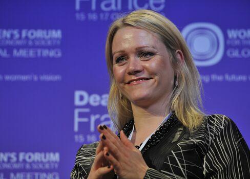 Iceland's Finance Minister Katrin Juliusdottir
