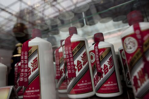 Moutai Falls Most in Month on Credit Suisse Cut