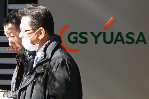 Yuasa Jumps as Boeing Said to Ready 787 Battery Fix