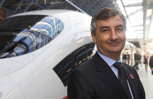 Eurotunnel Chief Executive Officer Jacques Gounon