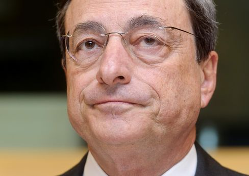 Bank of Italy Governor Mario Draghi