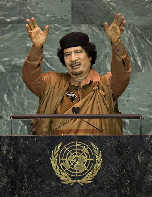 Qaddafi's African Drive Fails as 'King of Kings' Faces End