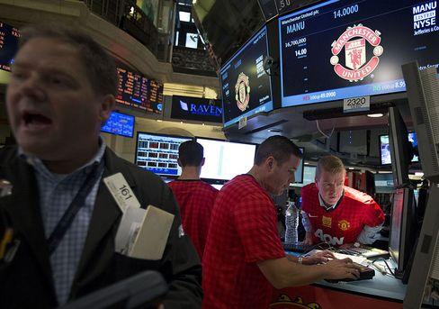 Manchester United Got Most IPO Demand From U.S., Woodward Says