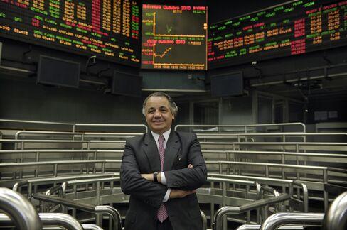 BM&F Bovespa CEO Edemir Pinto