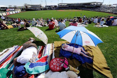 Springtime for Arizona Baseball Whets Debt Appetite