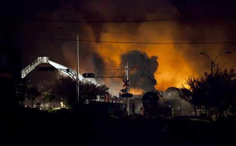 Train Derails in Quebec, Setting Off Explosions; Three Die