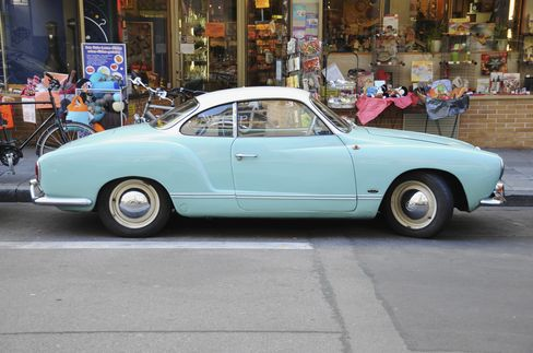 """A big change in the options list occurred in 1968, when the three-speed """"Automatic Stick Shift"""" went live. That option used a conventional gearshift lever without a clutch pedal. It was the closest thing to a conventional automatic the Karmann Ghia would ever offer."""
