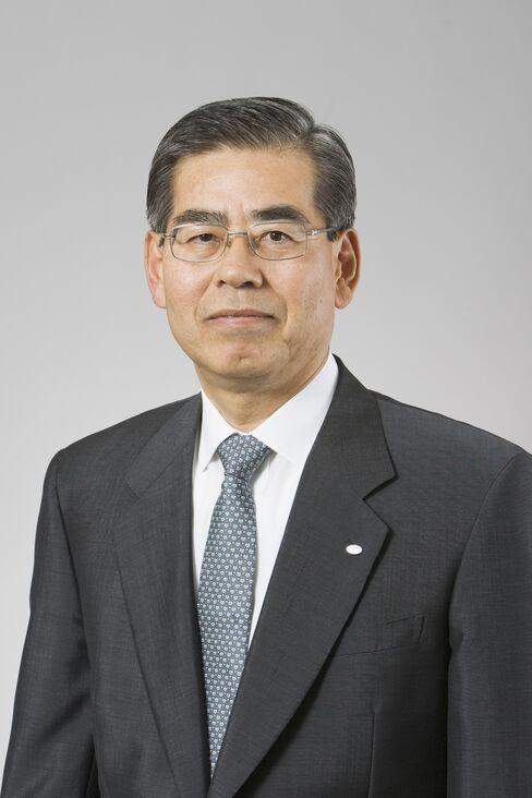 Denso President Nobuaki Katoh