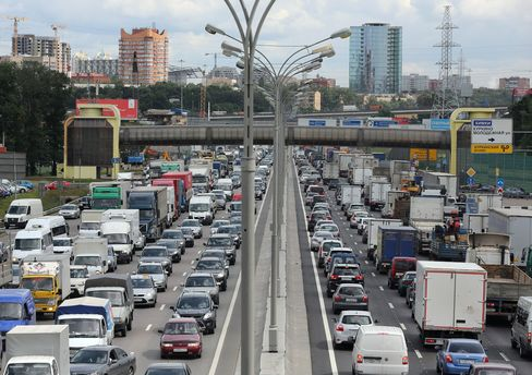 Ring Road in Moscow