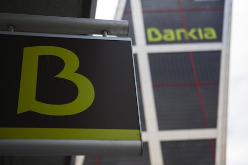 Bankia Falls on Ejection From Spain's Market Index