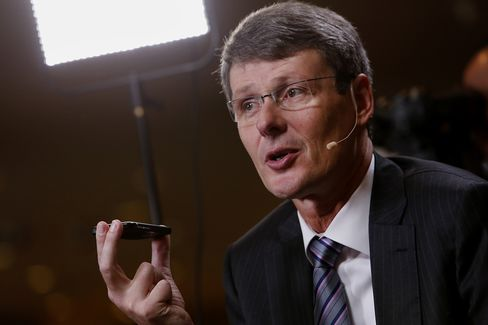 BlackBerry Chief Executive Officer Thorsten Heins