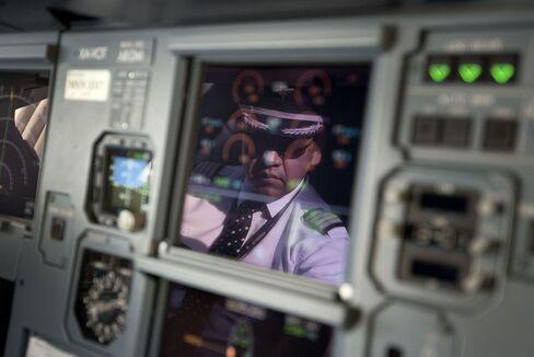 Airline Cockpit Controls