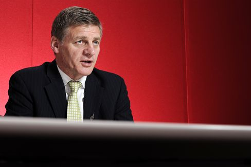 New Zealand Finance Minister Bill English