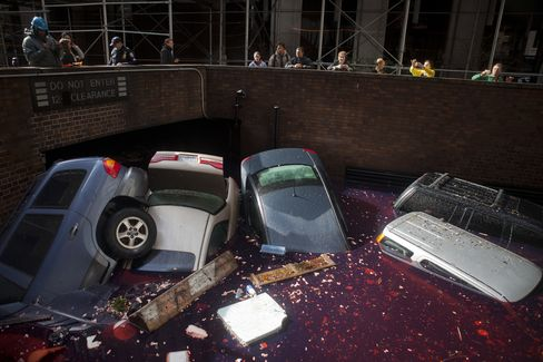 New York's Tally of Superstorm-Damaged Cars Climbs to 150,000