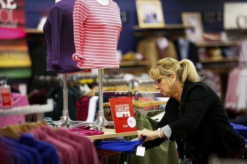 Lands' End Apparel for Sale at a Sears Store