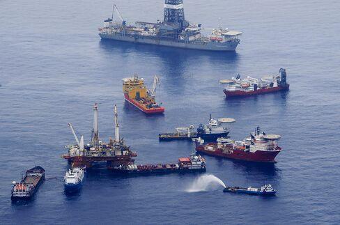 The Deepwater Horizon Oil Spill Site