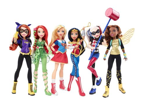 The DC SuperHero Girls line.