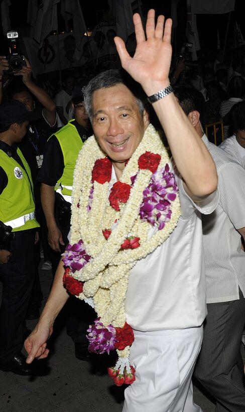Singapore People's Action Party Wins Parliament Majority