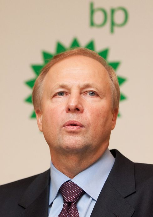 BP Plc Chief Executive Officer Robert Dudley