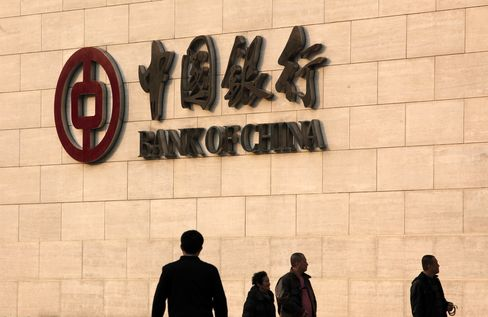 Chinese Banks' Bond Risk Rises Most in Asia Amid Moody's Warning