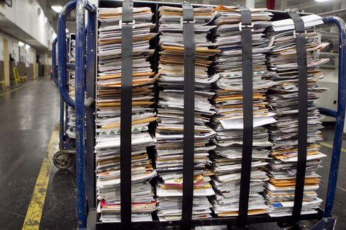 U.S. Postal Service on 'Tightrope' Loses $15.9 Billion in 2012
