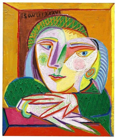 'Femme a la fenetre (Marie-Therese)'