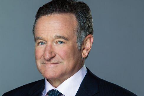 Actor Robin Williams