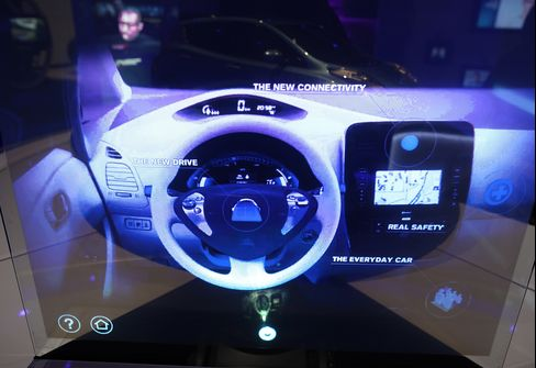 ICar Dream Downsizes to Dashboards as Apple Takes on Foes