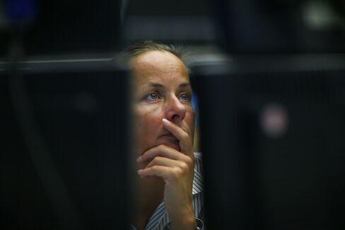 Stocks Decline With Euro as U.S. Budget Accord, Greek Aid Loom