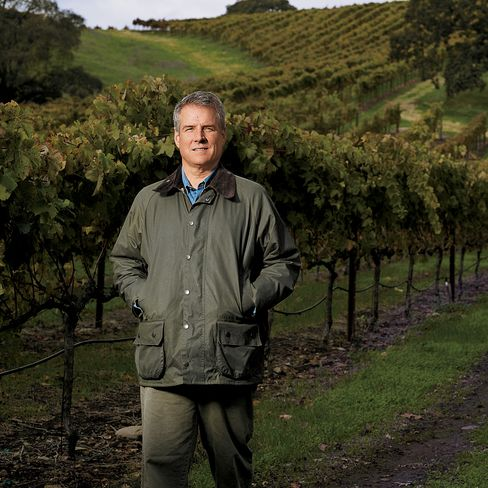 William Price, co-founder of TPG Capital, is photographed at Durell Vineyard in Sonoma Valley on Nov. 22, 2010. Photographer: Robyn Twomey/Bloomberg Markets via Bloomberg