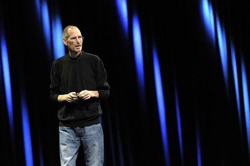Nasdaq-100 Futures Decline After Jobs Resigns as Apple's CEO