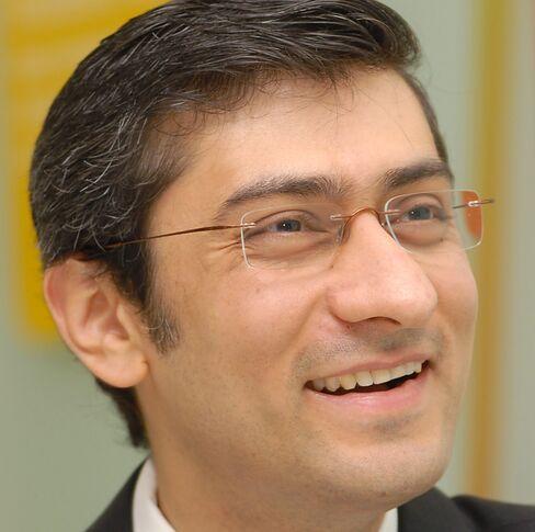 Nokia Siemens Chief Executive Officer Rajeev Suri