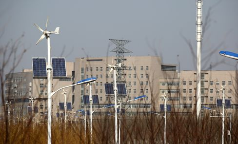 China Seen Canceling Subsidy for Largest Solar Projects
