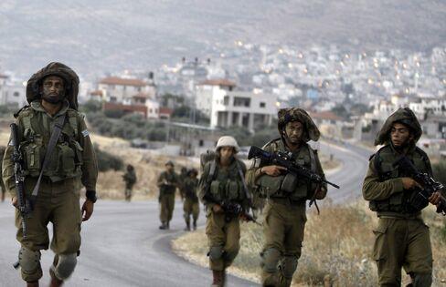Israeli Soldiers Patrol