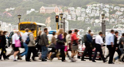 New Zealand Jobless Rate Climbs, Sending Dollar Lower