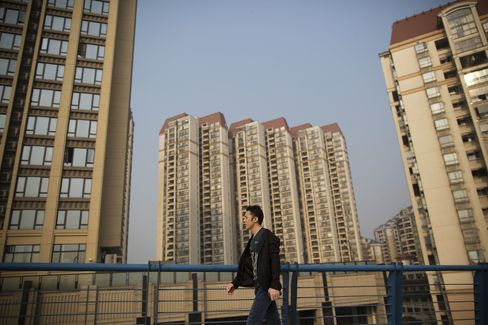 China Home Prices Fall