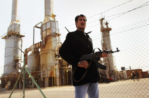 Qaddafi Gasoline Squeeze as Ships Supply Rebels