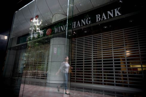 Wing Hang bank Branch