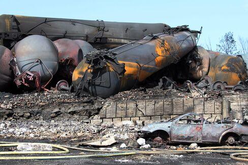 North Dakota Oil Transport Risks Revealed in Quebec Train Blast