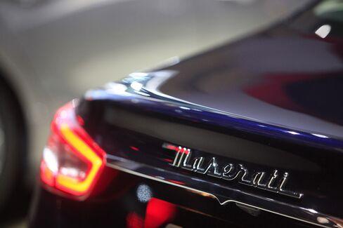 Maserati Predicts Eightfold Sales Rise