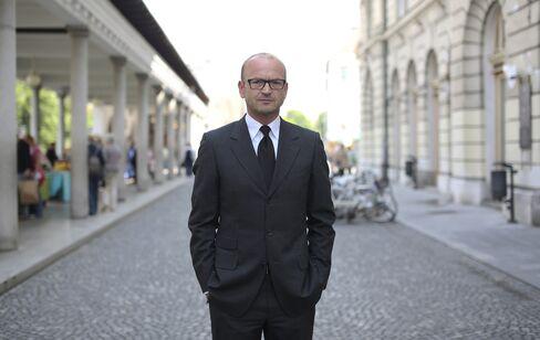 Slovenia's Incoming Central Bank Governor Bostjan Jazbec