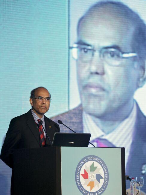 Duvvuri Subbarao, governor of the Reserve Bank of India