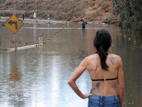 Australia's 'Biblical' Floods Worsen Waters Cut Off City