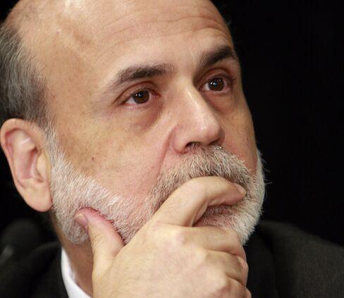 U.S. Federal Reserve Chairman Ben S. Bernanke. Photographer: Jeff Kowalsky/Bloomberg