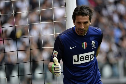 Soccer Player Gianluigi Buffon