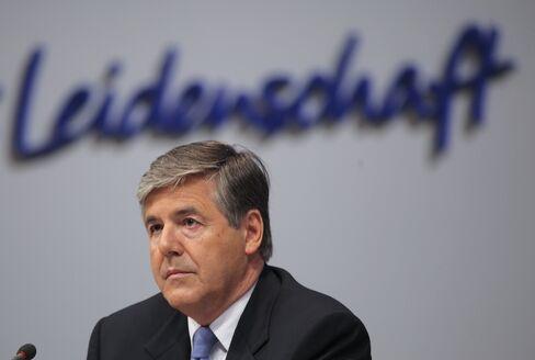 Former Deutsche Bank CEO Josef Ackermann